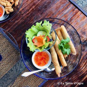Wang Thaï Roulades de crevettes