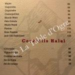 Le Rouget de l'Isle Carte cocktails