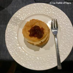 La clé de voûte Pastilla dessert