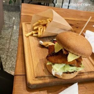 La table du marché Burger poulet