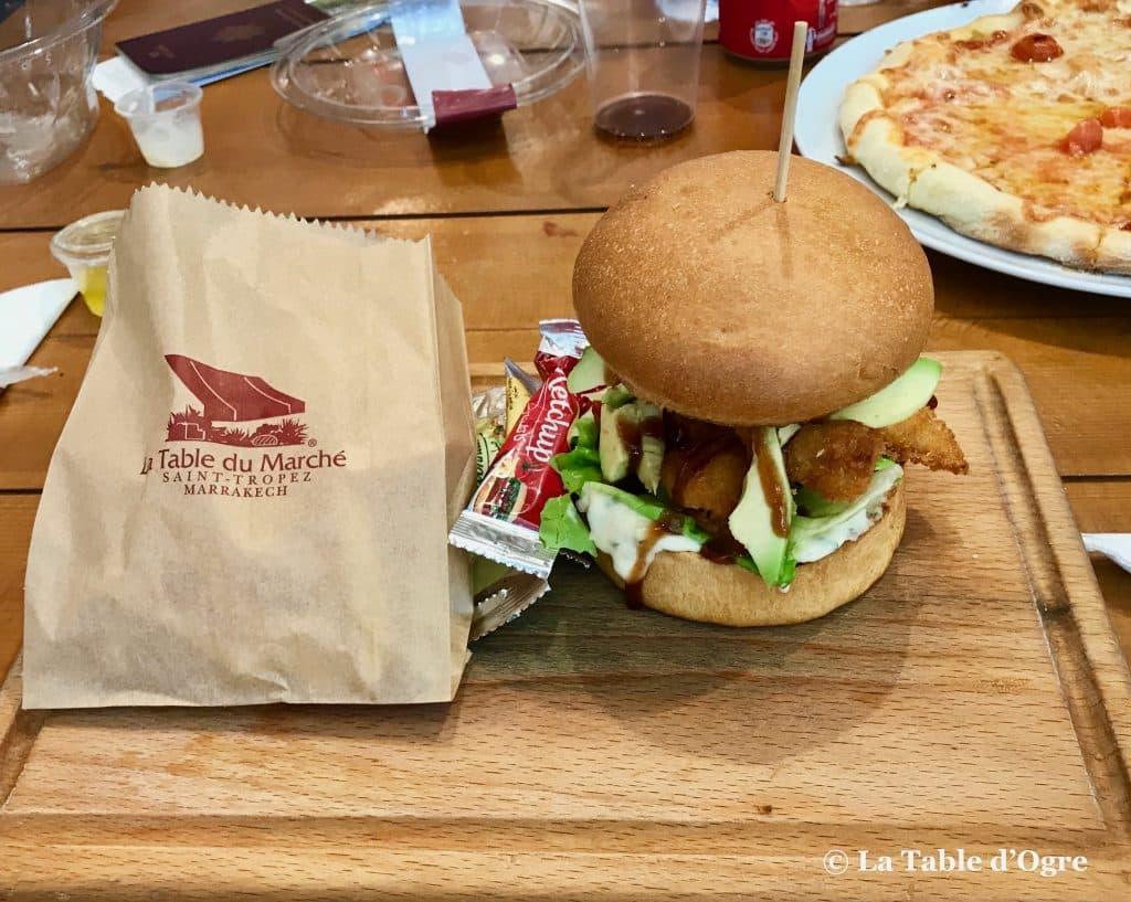 La table du marché Fish Burger
