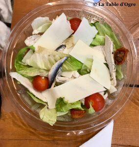 La table du marché Salade César