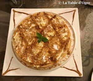 Riad Maryam Pastilla dessert