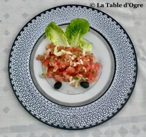 Villa Talaa Salade tomates