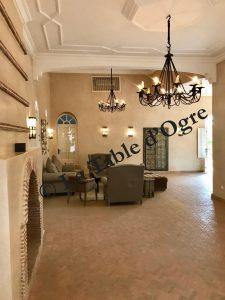 Villa Talaa Salle à manger salon