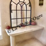 Villa Talaa Salle de bains table