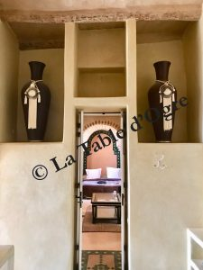 Villa Talaa Vue chambre