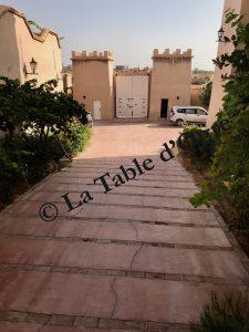 Villa Talaa Vue entrée