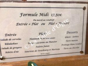 Au Bretzel Formule Midi