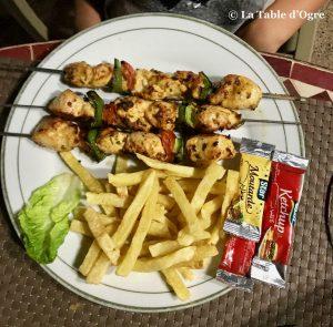 Jnane Soussian Brochettes poulet