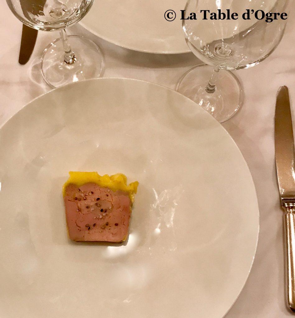 Joséphine Chez Dumonet Foie gras