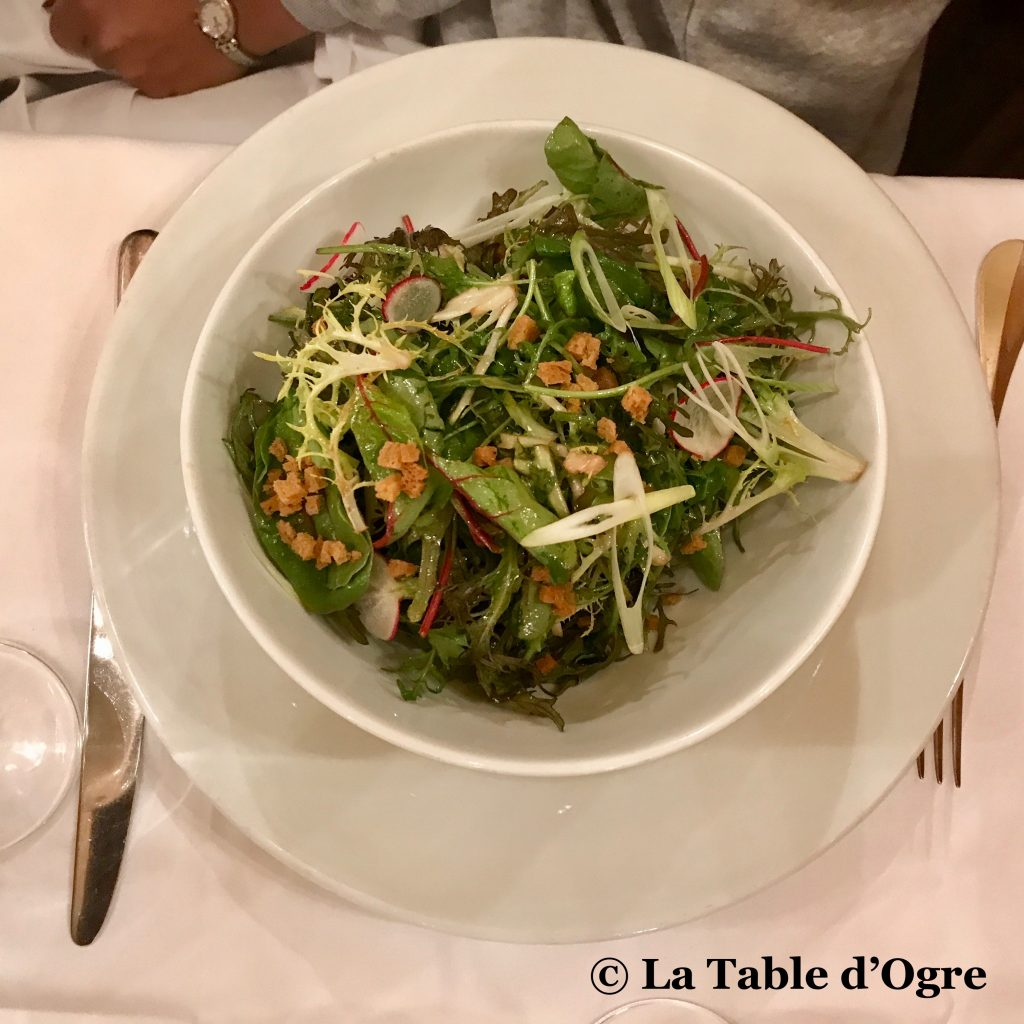 Joséphine Chez Dumonet Salade
