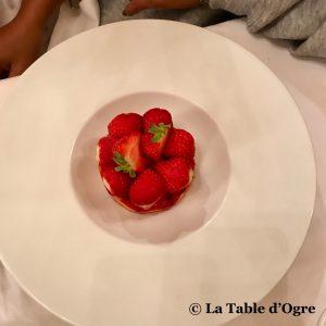 Joséphine Chez Dumonet Tarte fraises