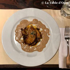 L'Estrapade Foie gras poêlé