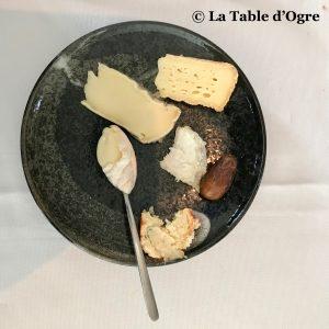Le lièvre gourmand Assiette de fromages