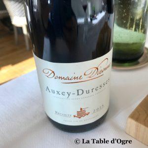 Le lièvre gourmand Auxey-Duresses Domaine Diconne 2015