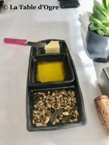 Le lièvre gourmand Beurre huile graines