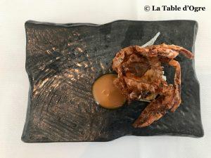 Le lièvre gourmand Crabe en mue