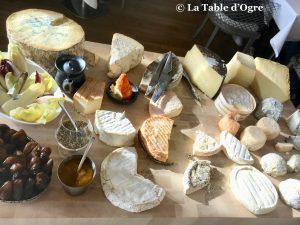 Le lièvre gourmand Plateau de fromages