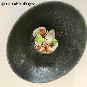 Le lièvre gourmand Saint Jacques espuma