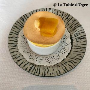 Le lièvre gourmand Soufflé mangue