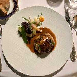 Charles Barrier Pied de porc desossé ris de veau truffes