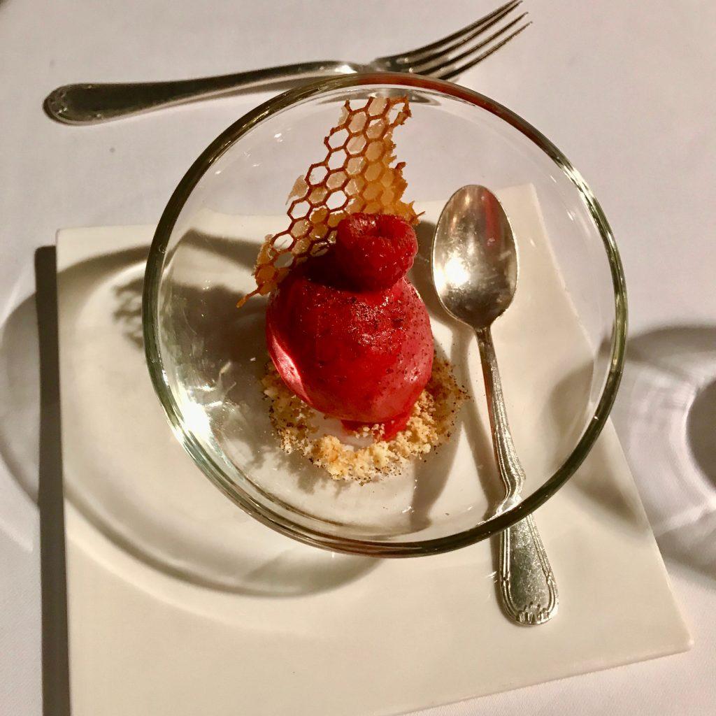 Charles Barrier Pré dessert Framboise Maison