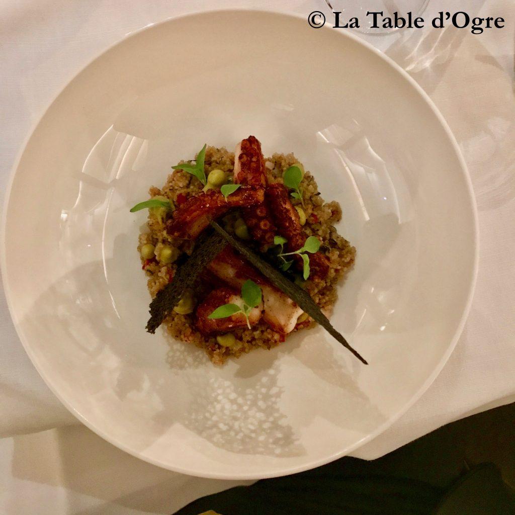 Le Collectionneur Poulpe, quinoa