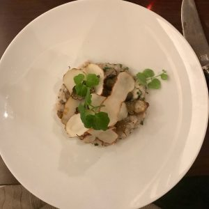 56 Graader/Degrés Risotto champignons topinambour