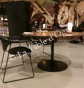Amass table et salle