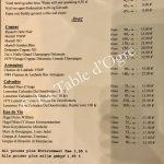 Gronnegade Carte digestifs