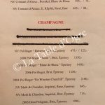 Red Box Carte Champagnes