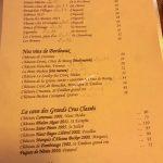 L'Angélus du Canal Carte vins
