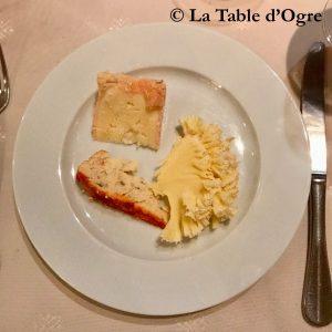 Au bon Laboureur Assiette de fromages
