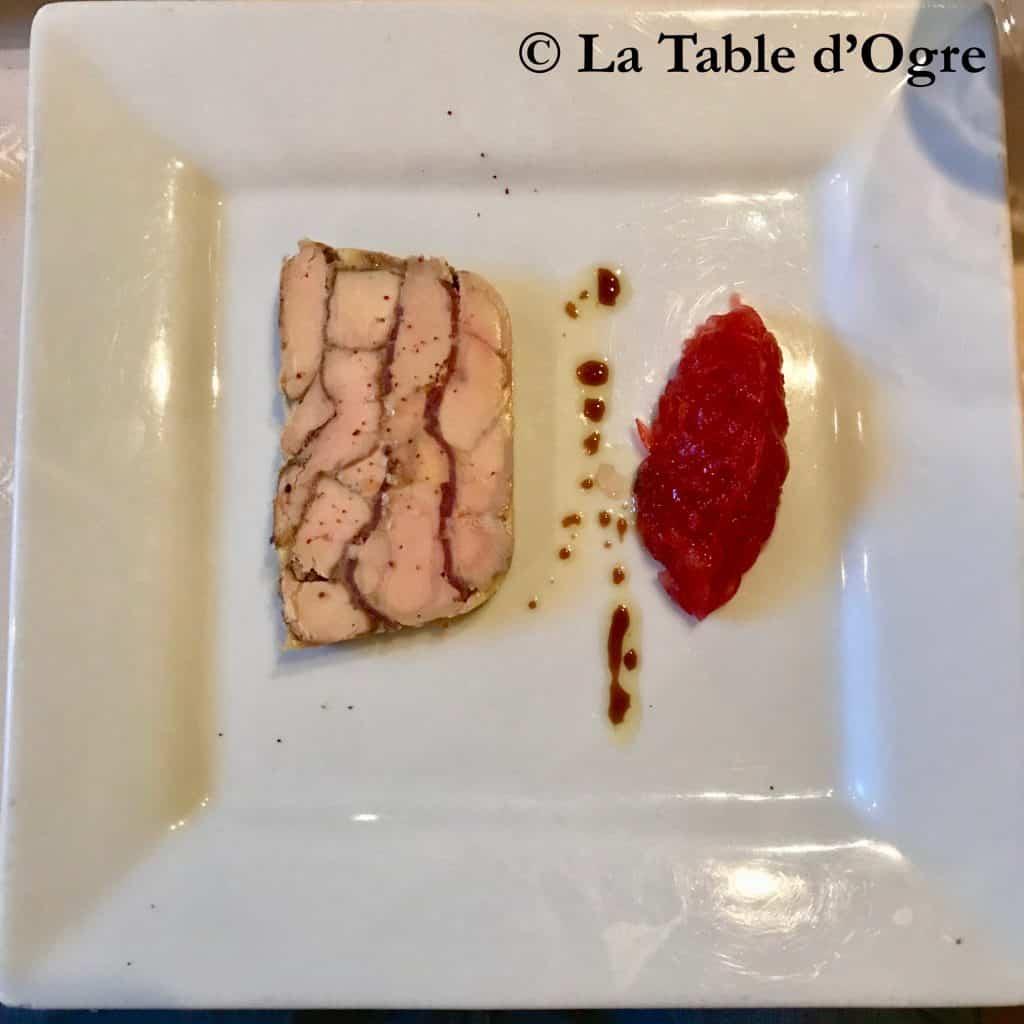 Au bon Laboureur Foie gras