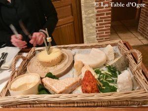 Au bon Laboureur Plateau de fromages