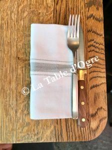Bleu Grill Français Table