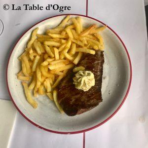 Bouillon Pigalle Steak beurre Maître d'hôtel