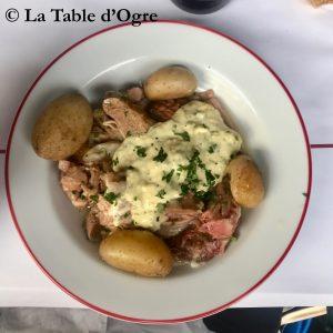 Bouillon Pigalle Tête de veau