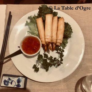 Chez Basilic Nems crevettes