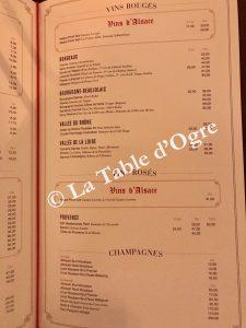 L'Alsace Carte vins 2