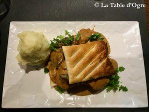 La Table Saint-Jean Feuilleté de ris de veau
