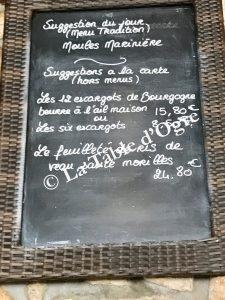 La Table Saint-Jean Suggestions