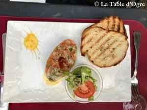 La Table Saint-Jean Tartare de poisson