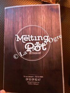 Melting Pot Carte