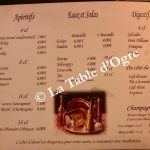 Loubnane Carte apéritifs