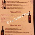 Loubnane Carte vins