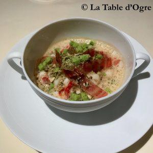 Auberge de l'Ill Fond homard wasabi