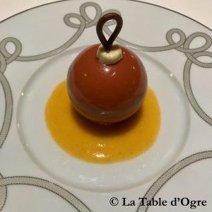 Fourchette des Ducs Sphère au chocolat 2