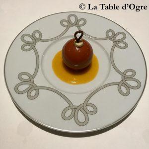 Fourchette des Ducs Sphère au chocolat